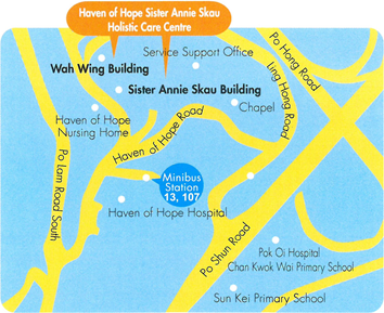 Haven of Hope Holistic Care Centre Location Map